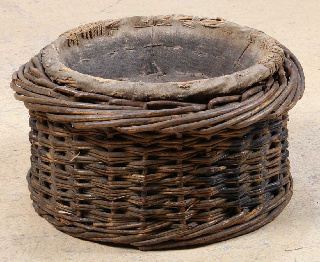 Two French Country Wicker Baskets