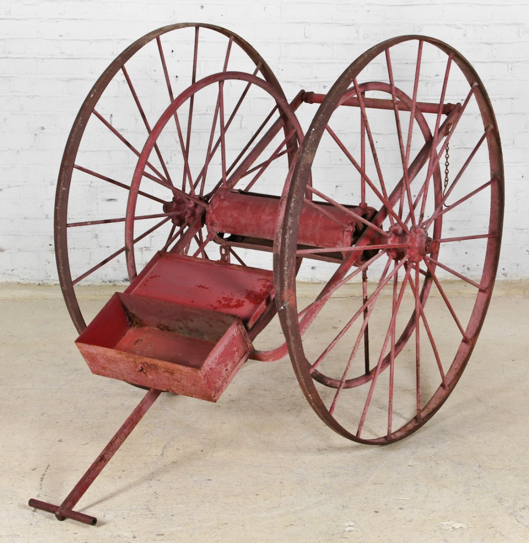 19th C. Fire Dept. Hose Wagon