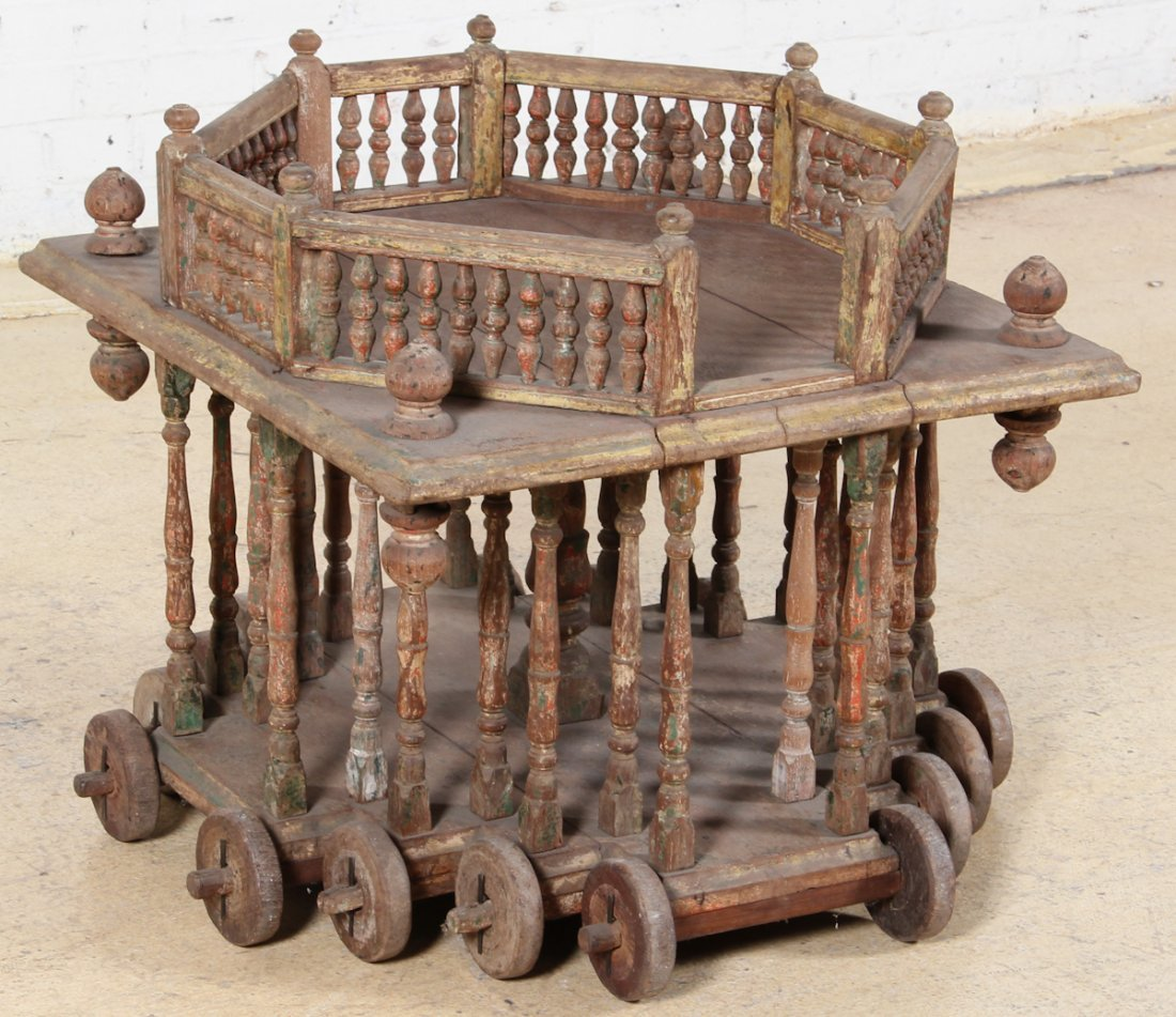 Original 19th C Indian Temple Table