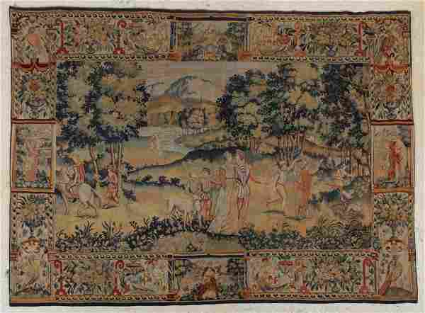 19th Century Franco Flemish Tapestry