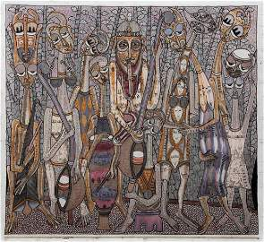 Prince Twins Seven Seven (Nigerian, 1944-2011)