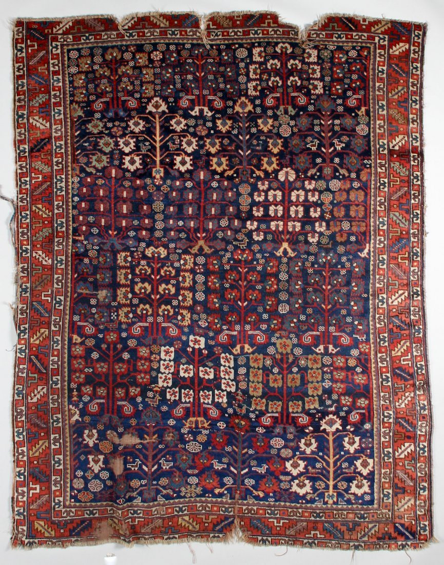 Early West Persian Kurd Rug