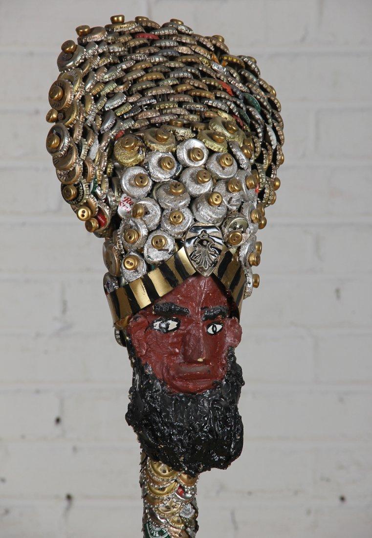 017: Mr. Imagination (American, 1948-2012): Totem Sculp