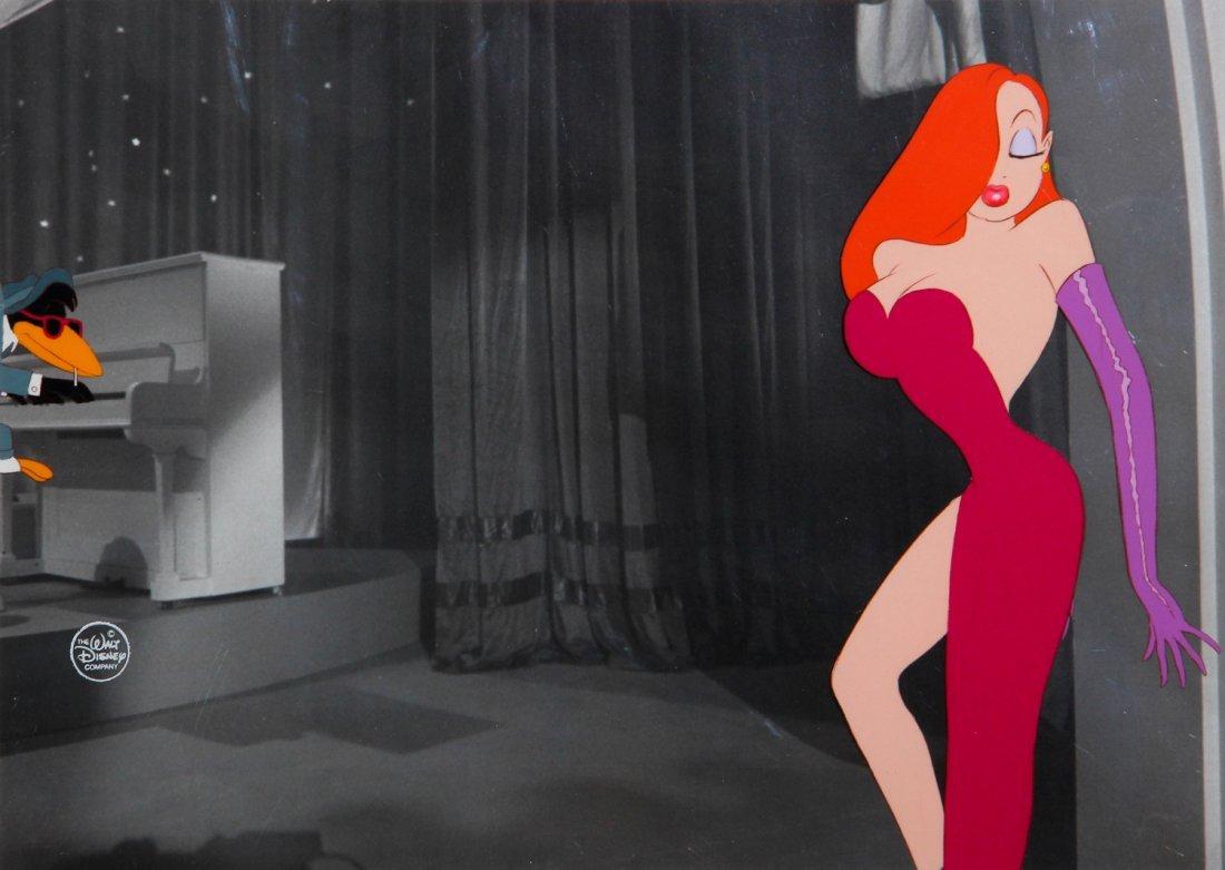 074: Jessica Rabbit Original Hand Painted Animation Art