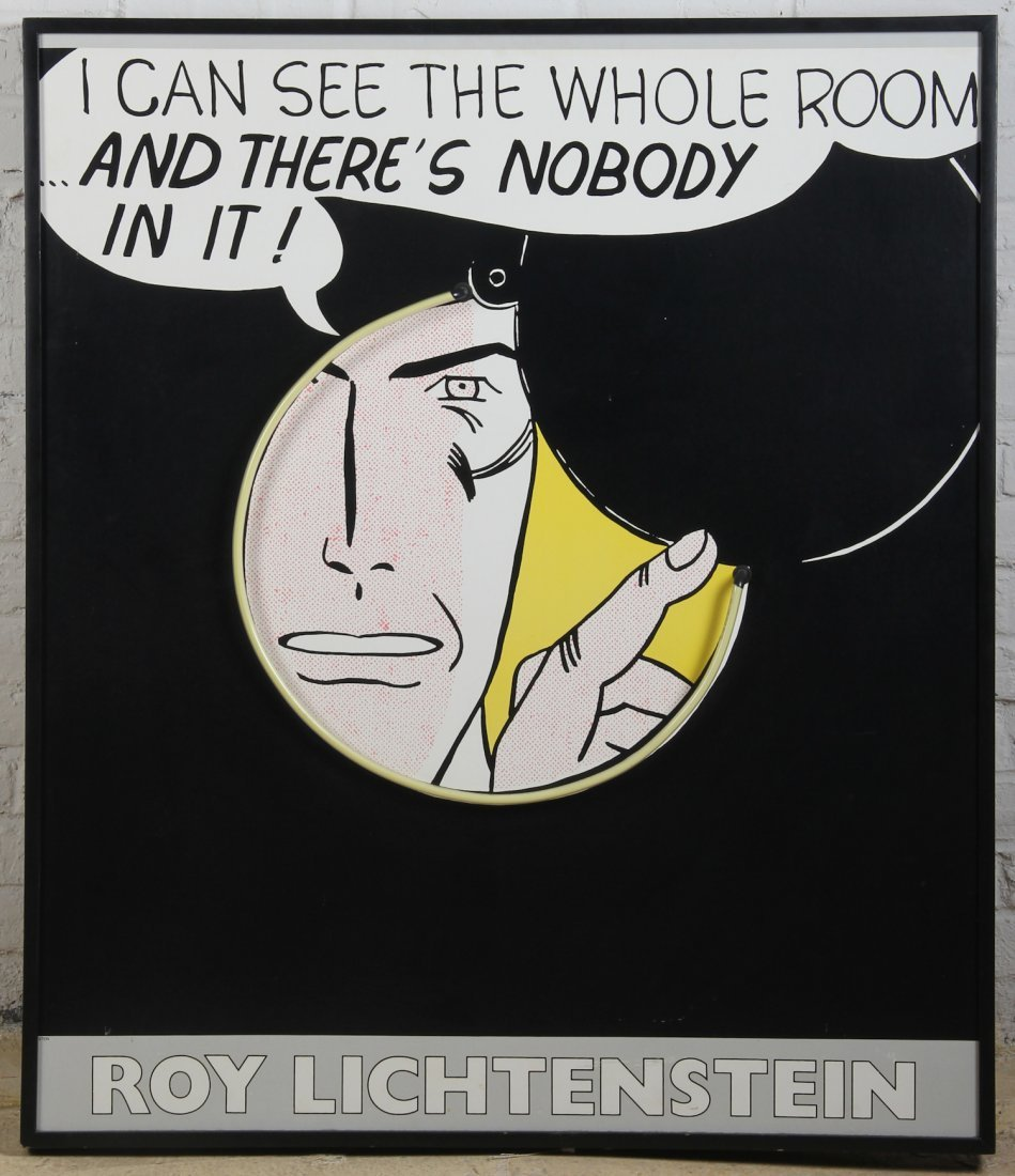Roy Lichtenstein Modern Art Neon Light Box