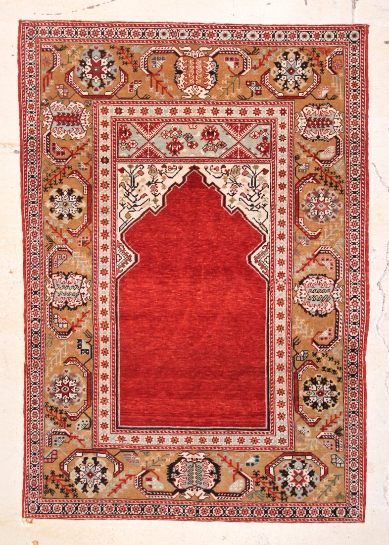 Classical Ottoman Prayer Rug