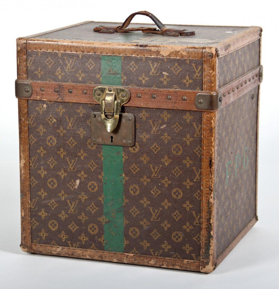Antique Louis Vuitton Hat Box