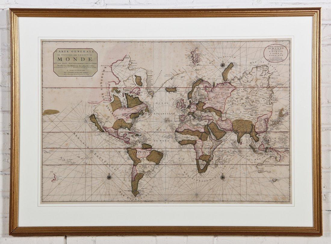 Pierre Mortier World Map