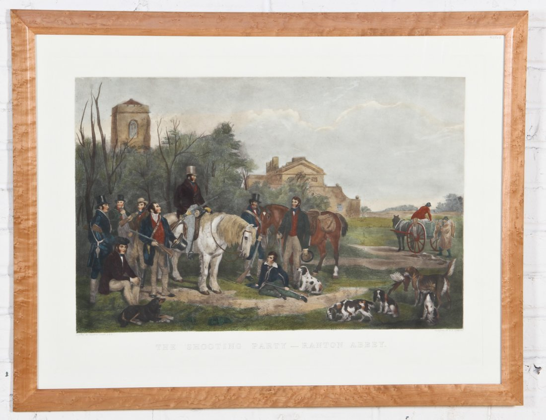 Francis Grant Engraving: The Shooting Party