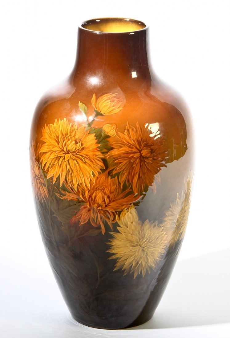 Outstanding Kataro Shirayamadani Rookwood Vase