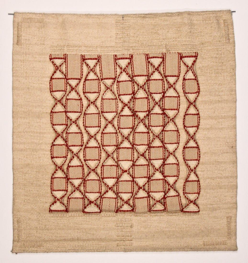 Sigrid Meier, Fiber Art Tapestry: Waves