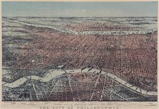 The City of Philadelphia, Currier & Ives
