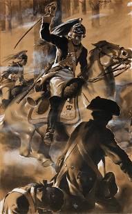 Manning DeVilleneuve Lee, illustration art