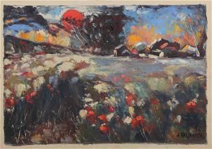 A. Zaldshnja Oil Painting