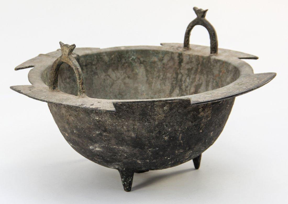 Seljuk Bronze Tripod Cauldron - 2