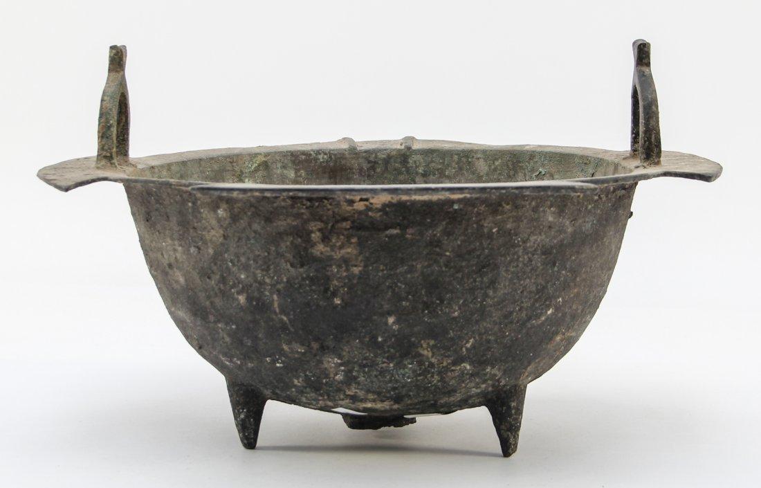 Seljuk Bronze Tripod Cauldron - 3