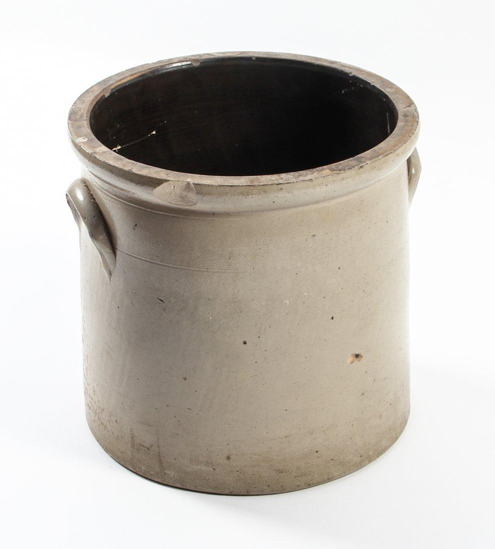 Large American, 19th c, 5 Gallon Stoneware Crock - 5