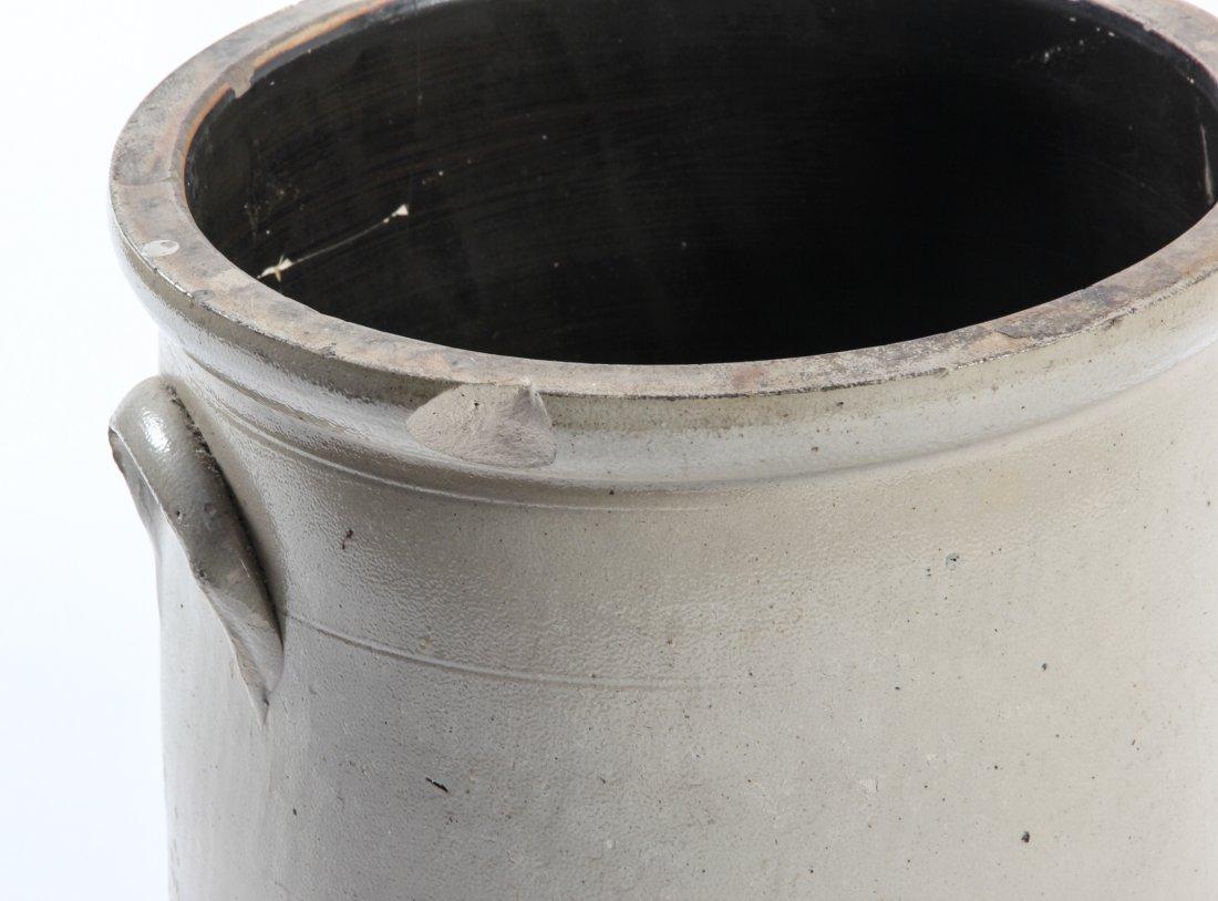 Large American, 19th c, 5 Gallon Stoneware Crock - 6