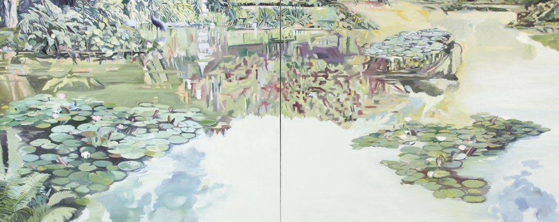 Howrigan, Large Painting, Golden Gate I, II 1979