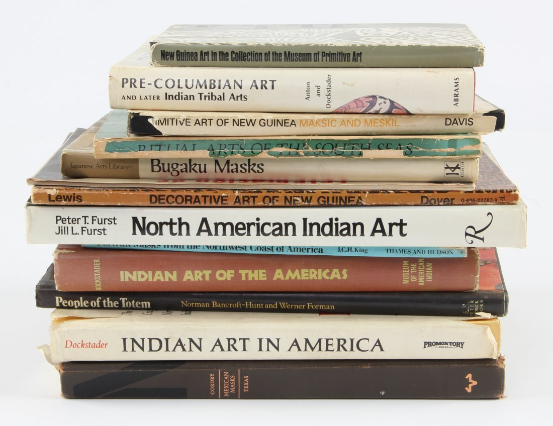 Collector's Lot of Ethnographic Art Books.