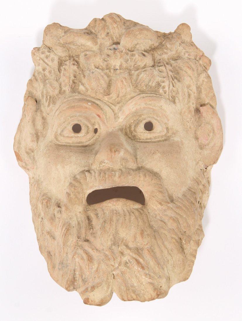 Terra Cotta Mask, Sicily