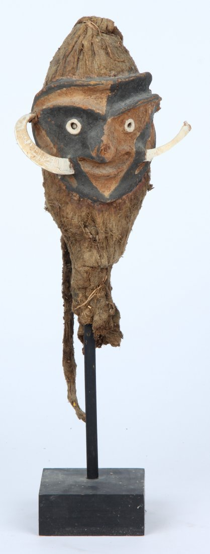 Chancay False Mummy Head