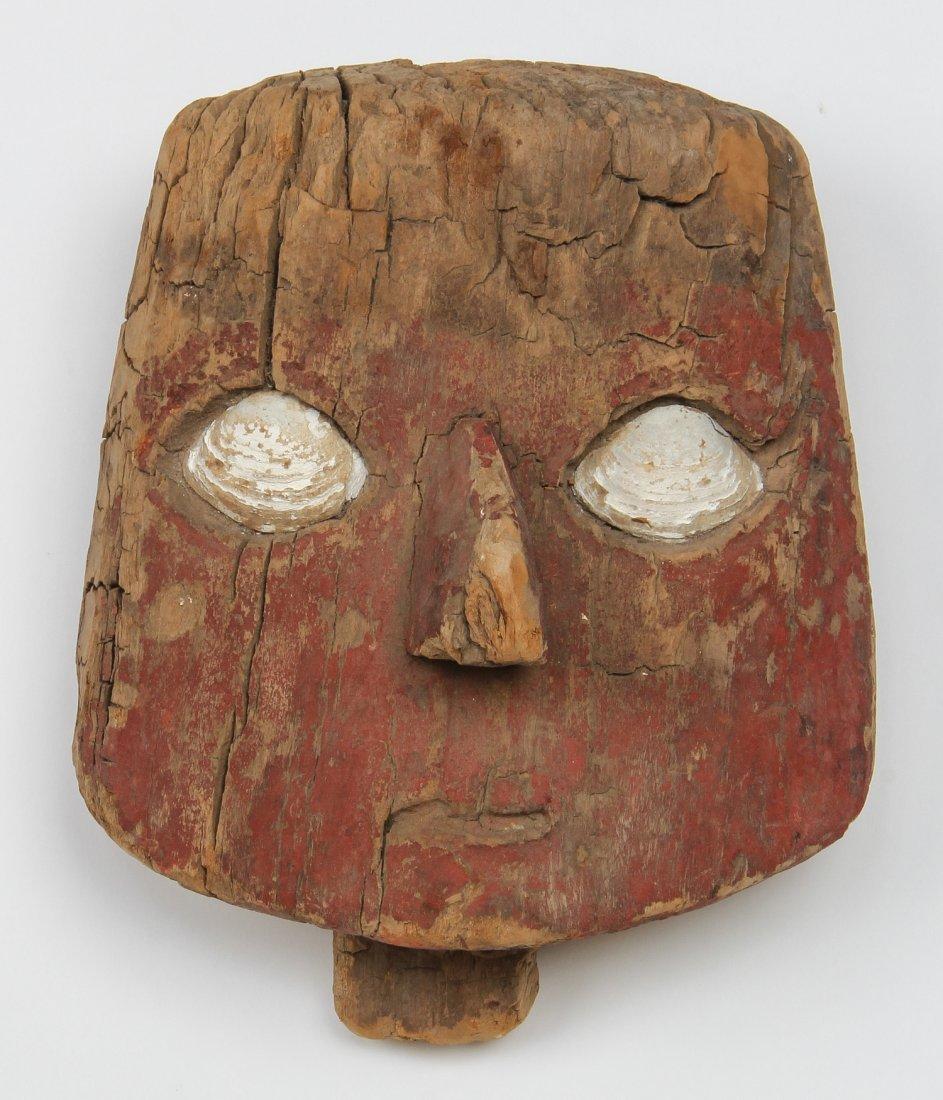 Chancay False Mummy Mask