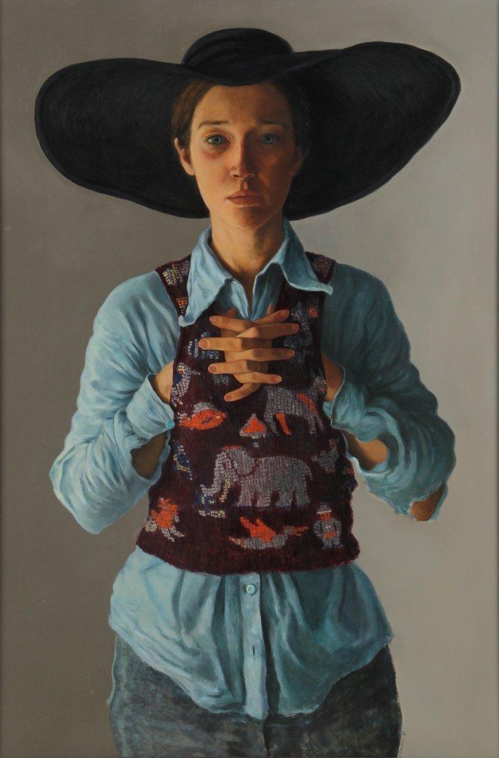Deborah Deichler (American, b. 1948) Oil Painting
