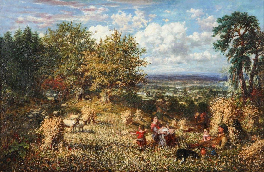 George William Mote (British, 1832-1909) Oil Painting