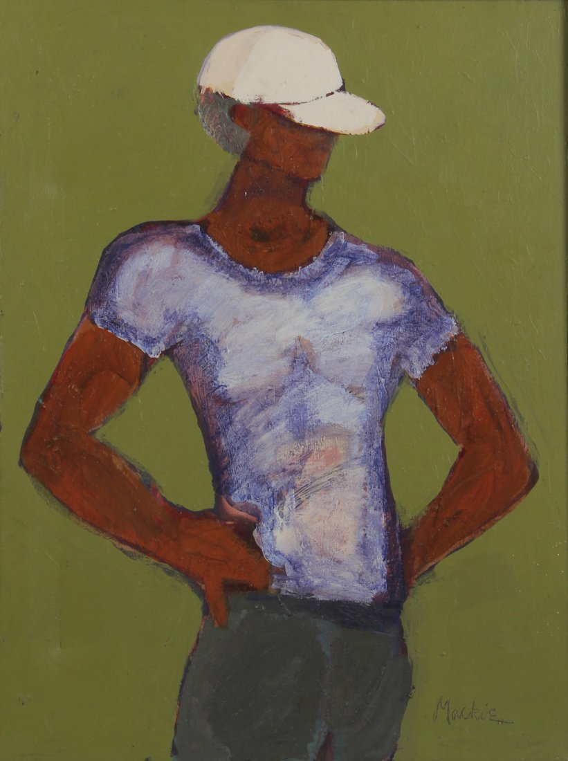 Deryl Mackie (1949-2007) Painting