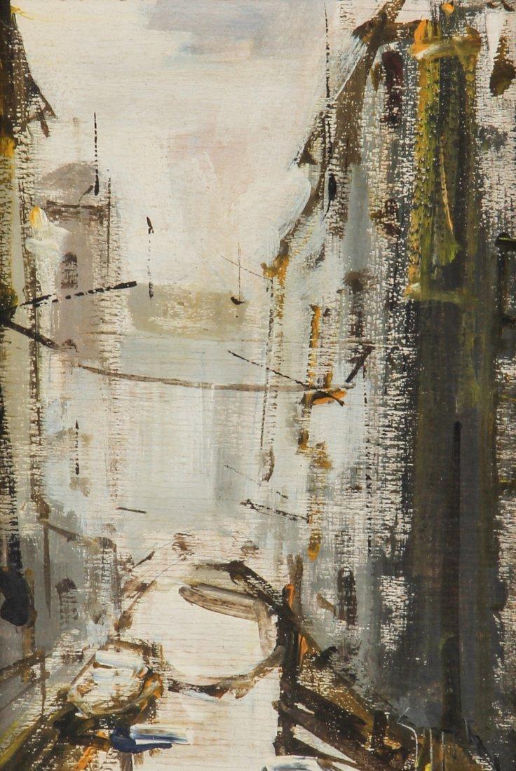 Sergio Gaggetta: Framed Oil on Canvas