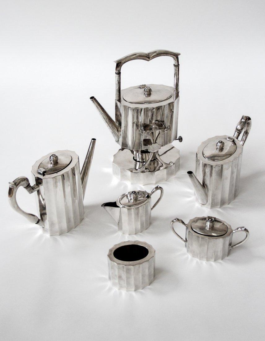 Margo De Mexico Sterling Silver Tea Service