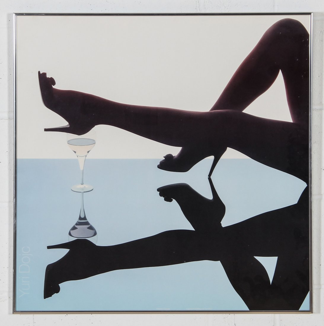 Yuri Dojc. Czechoslovakian. Legs Poster.