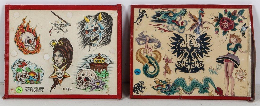 1980's Tattoo Flash Panels- Sailor Moses - 2
