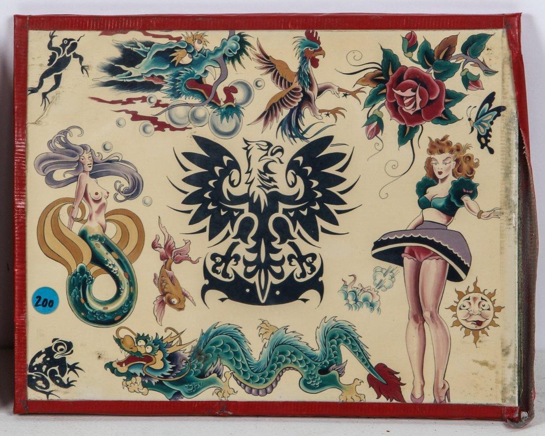 1980's Tattoo Flash Panels- Sailor Moses - 4