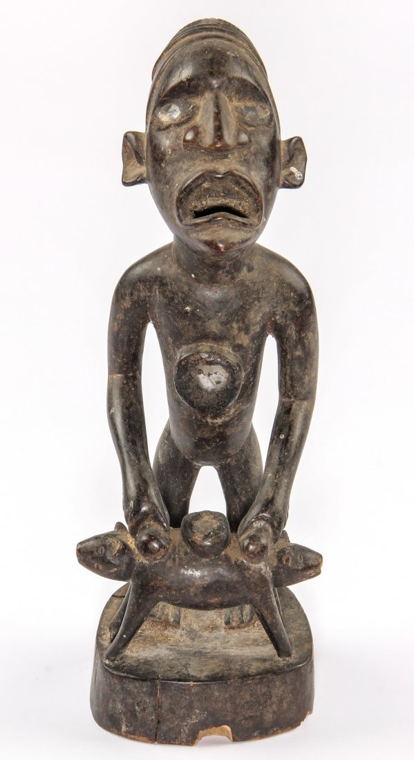 Fine African Yombe Power Figure