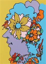 Peter Max Silkscreen Print 1970