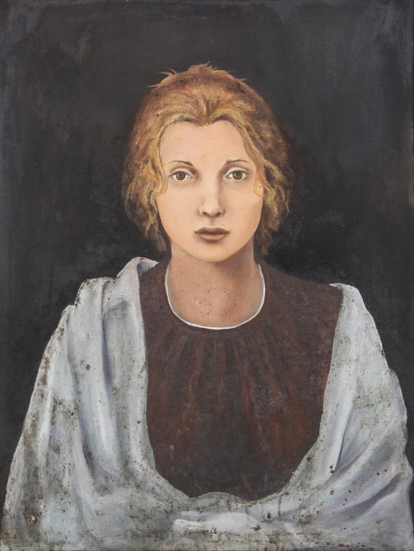 Painting of a Young Lady