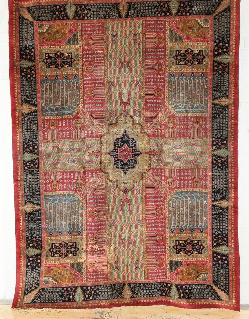 "Large West Anatolian Garden Carpet: 11'10"" x 15'11"""