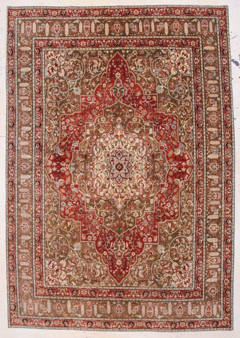 """Tebriz Carpet: 9'11"""" x 14'3"""""""