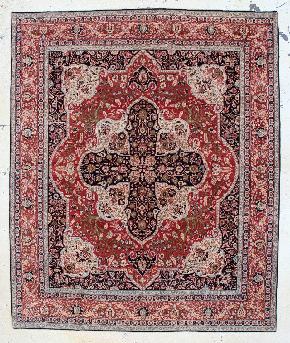 """Tebriz Carpet: 9'6"""" x 11'5"""""""