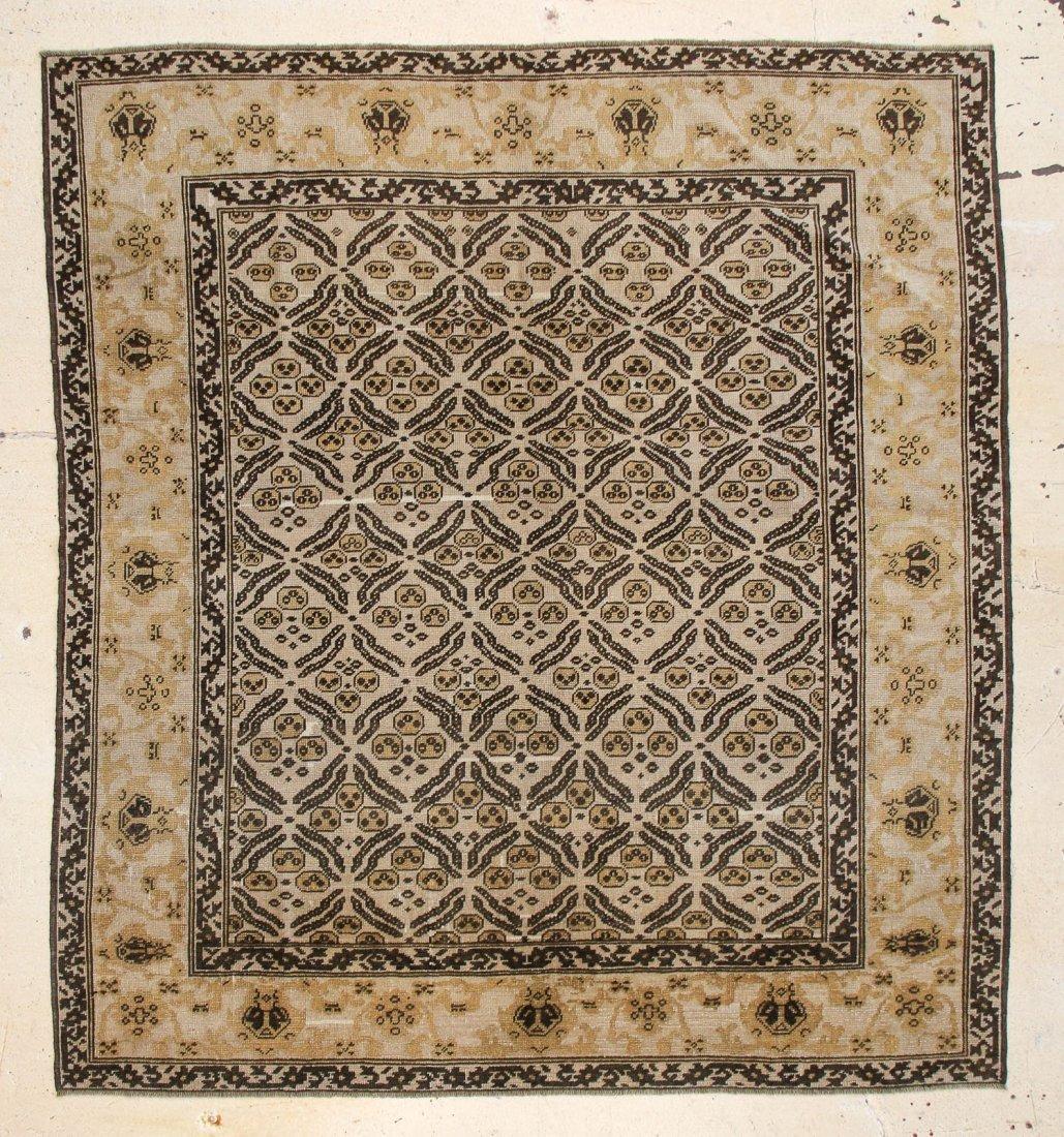 "Ottoman Style Oushak Carpet: 7'9"" x 9'2"""