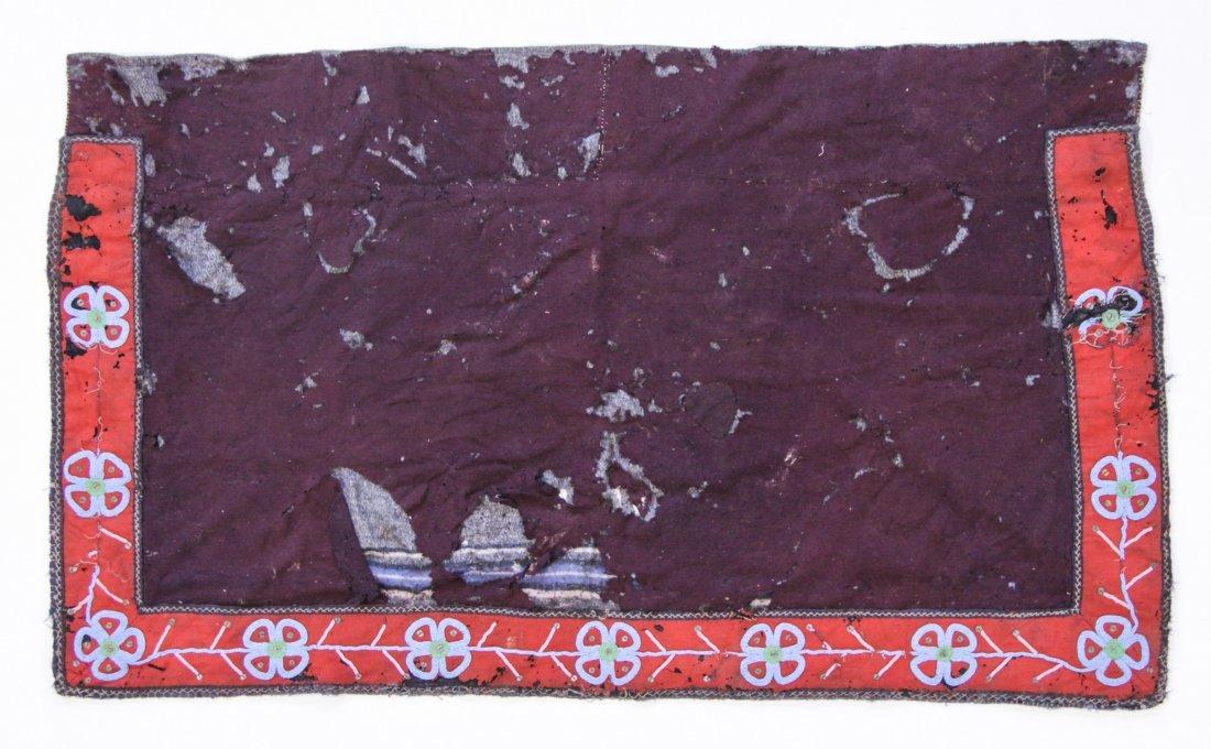 Cree Saddle (Beaded Blanket)