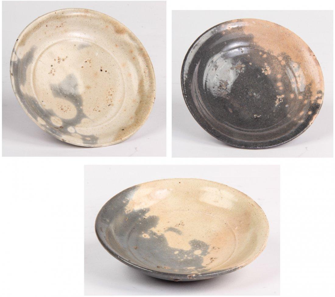 Three Chinese Sung Bowls