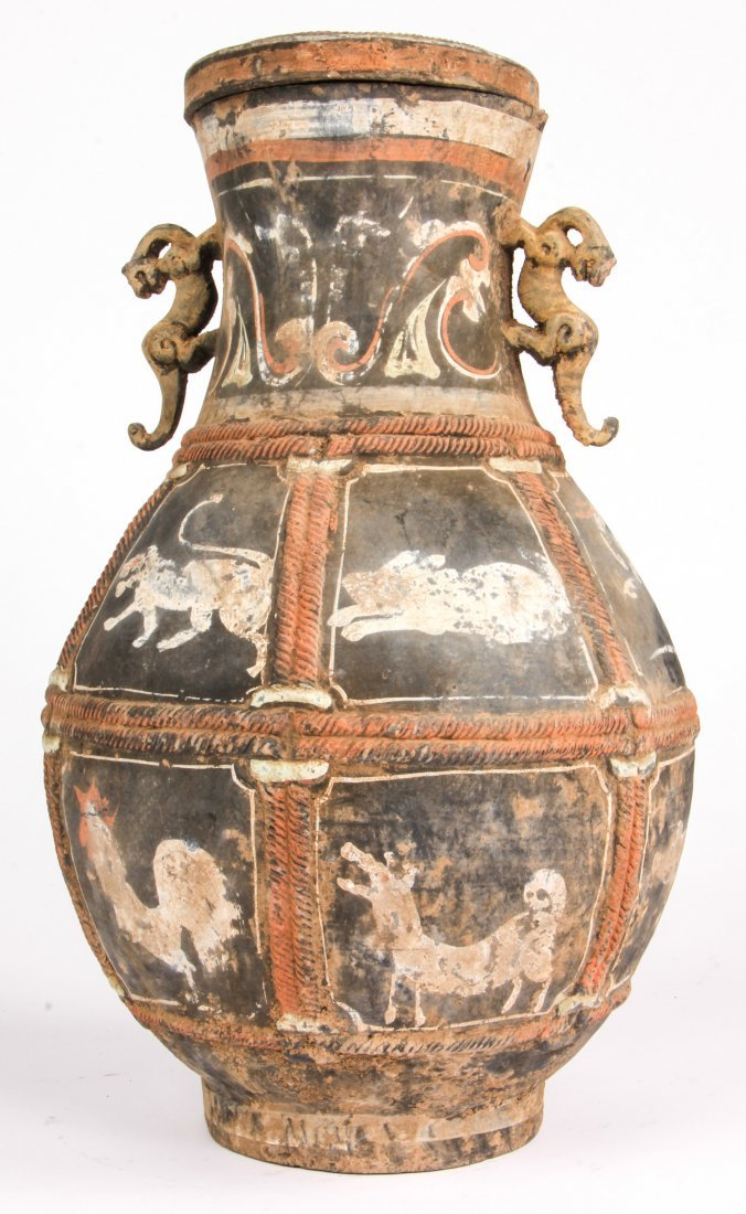Chinese Zodiak Vase