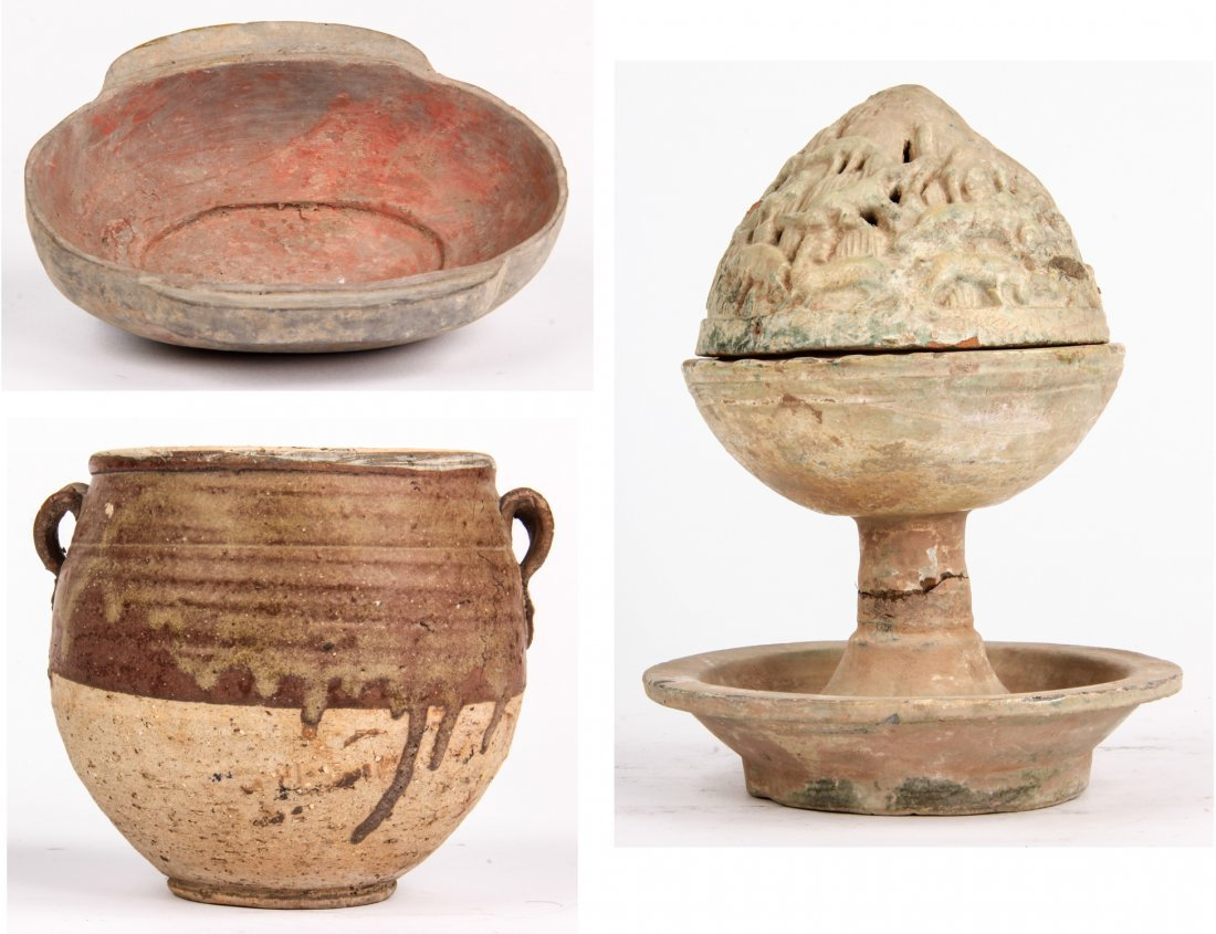 Group of Chinese Style Pottery