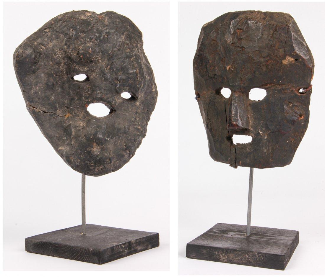 Anthropomorphic Nepali Tree Root Mask