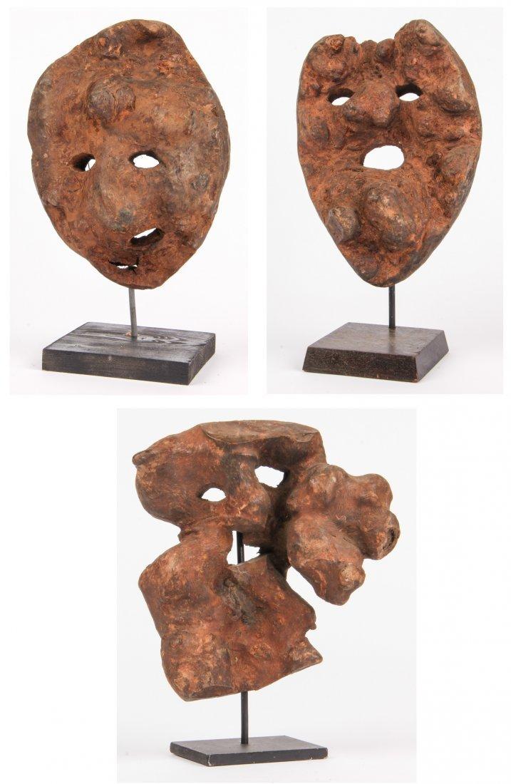 Intriguing Nepali Root Wood Mask