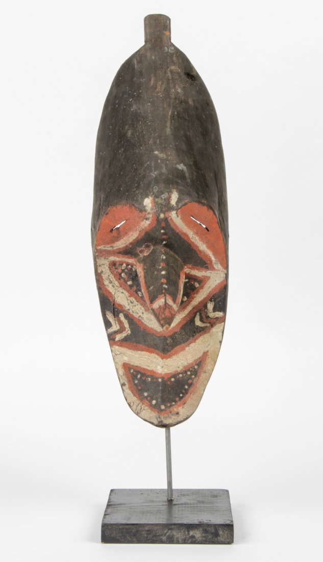 Polychrome New Guinea Mask