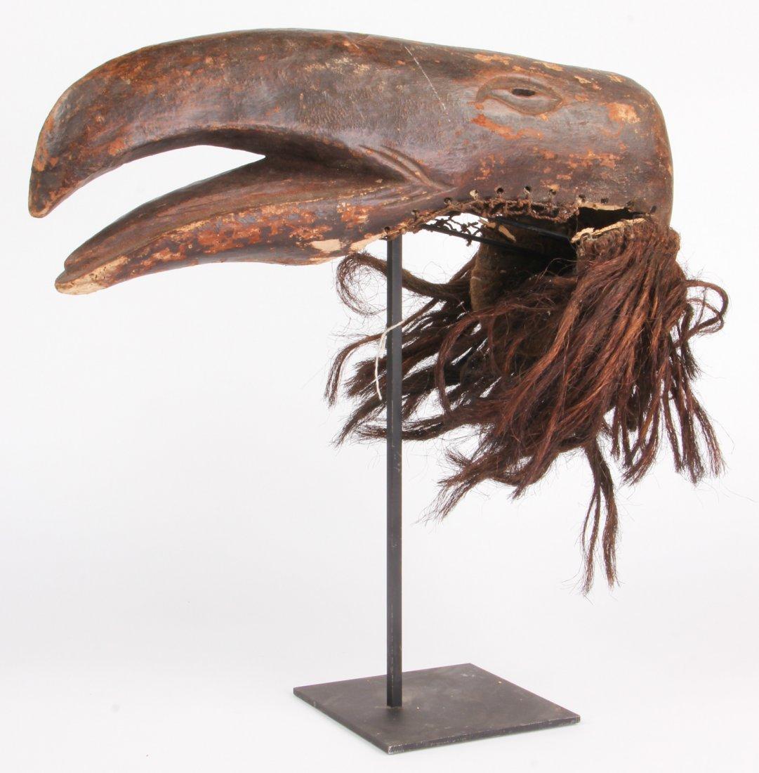 Zoomorphic African Chewa Mask (Bird)